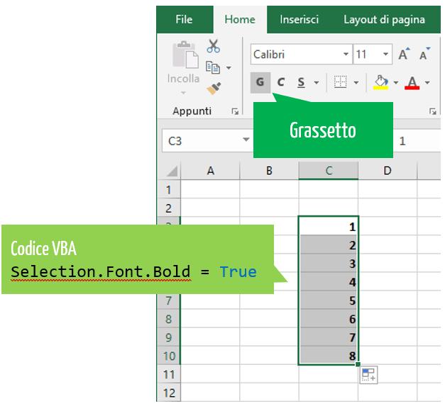 linguaggio macro Excel | visual basic excel