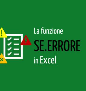 se errore Excel