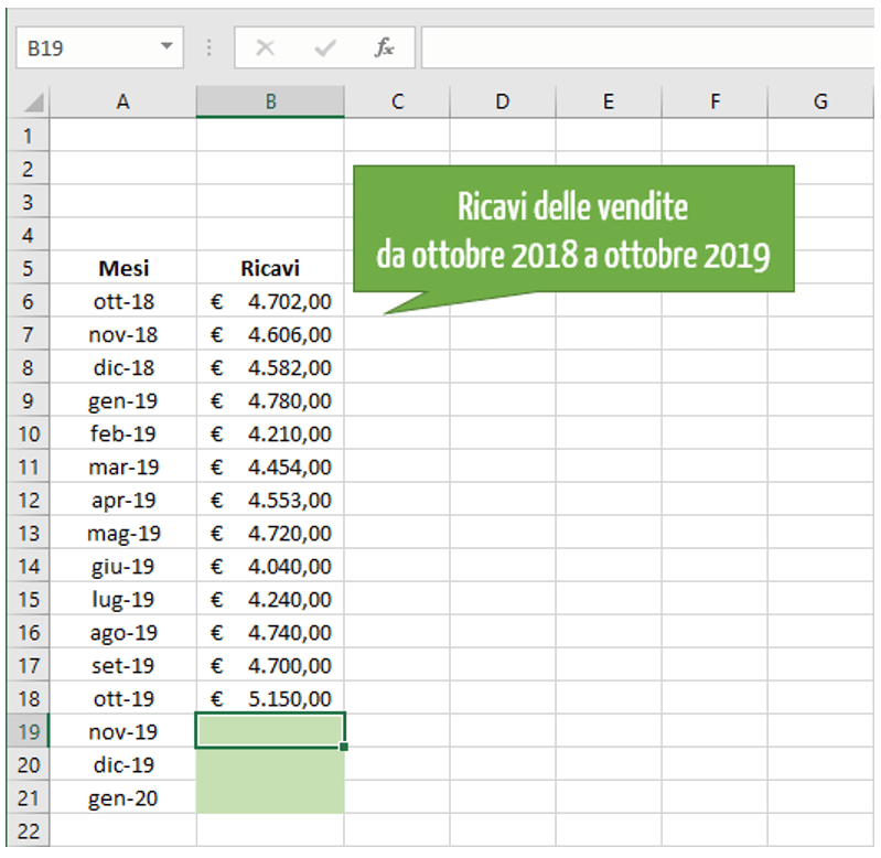 interpolazione Excel