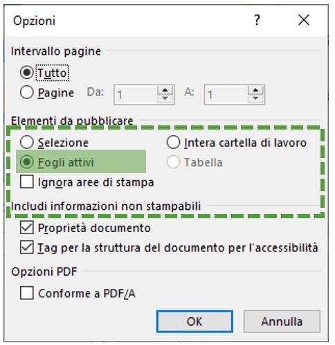da excel a pdf