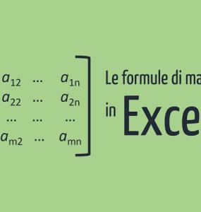 Formule Excel - le formule matrice Excel