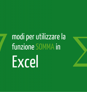somma excel