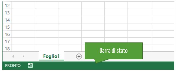 comandi veloci Excel | tasti scelta rapida excel - barra di stato