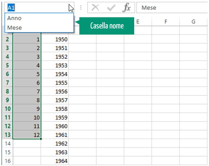 calendario excel | inserire calendario in excel