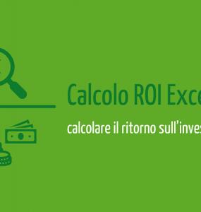 Calcolo ROI