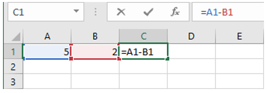 inserire formule in excel