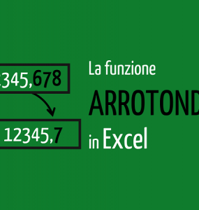 ARROTONDA Excel