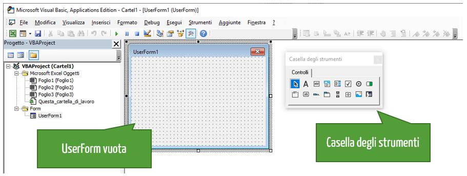 Userform esempi excel | maschere excel | Come creare una maschera inserimento dati Excel