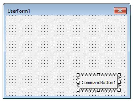 User Form Excel