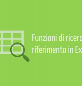 funzioni Excel di ricerca e riferimento