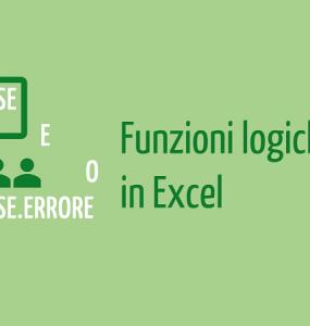 funzioni logiche excel