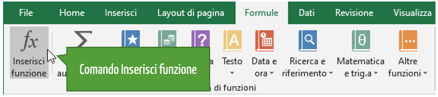 Le funzioni di database Excel | Excel database