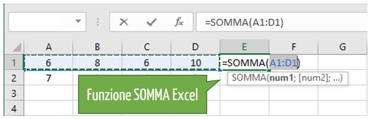 Funzione Excel