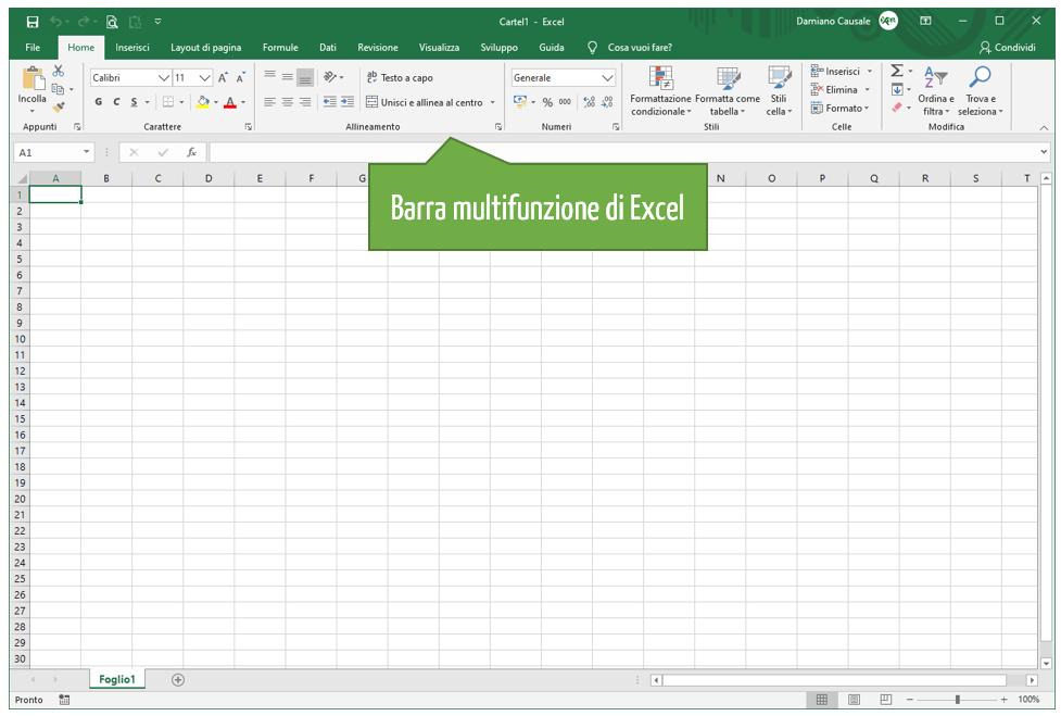 Excel come usarlo | Come utilizzare Excel nozioni di base