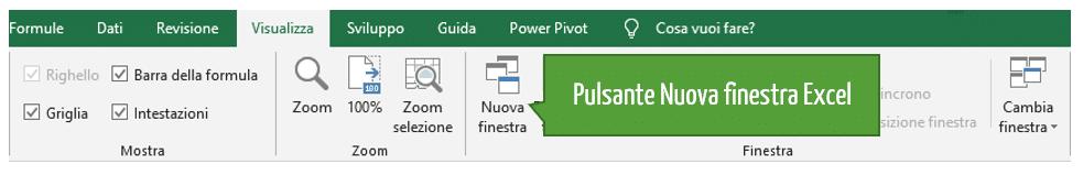 Come creare una nuova finestra Excel