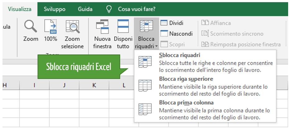 Sbloccare foglio Excel | Sblocco celle Excel