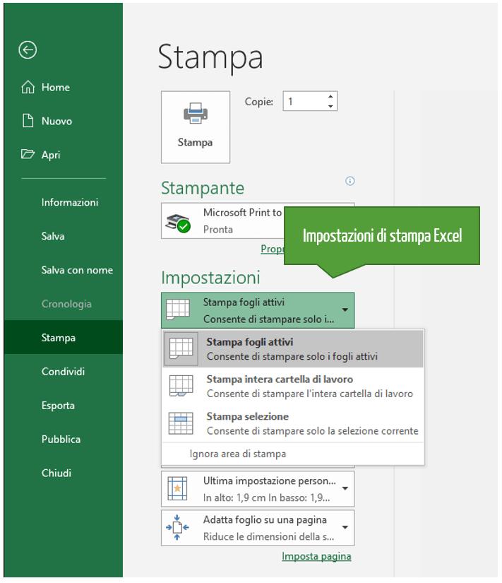 Come stampare un foglio Excel | Stampare un foglio di lavoro o una cartella di lavoro Excel