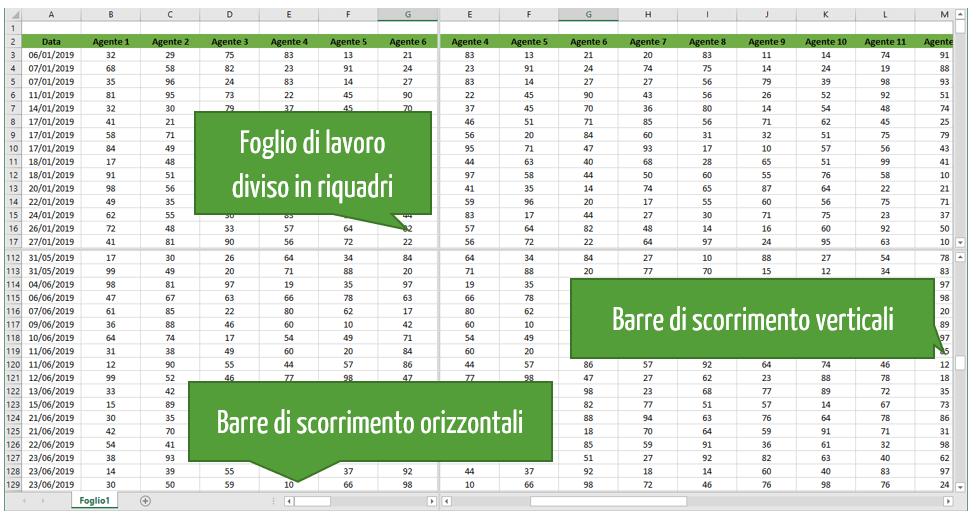 riquadri Excel