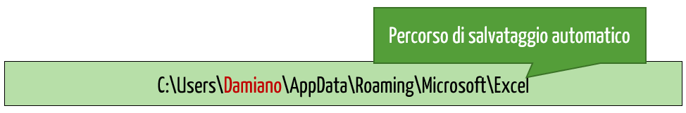 Ripristino file Excel | Percorso Salvataggio automatico Excel