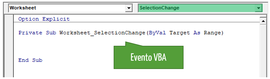Excel grafici | Evento VBA
