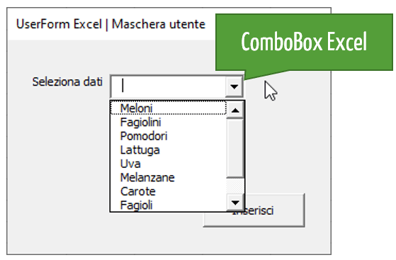 ComboBox Excel VBA