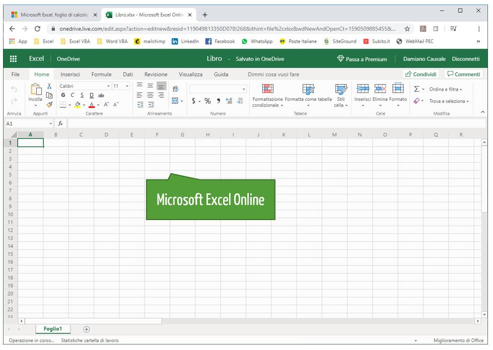 Excel online: una versione gratuita di Excel direttamente dal tuo browser | Excel online gratis