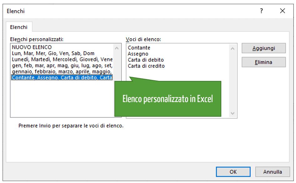 ordinare Excel