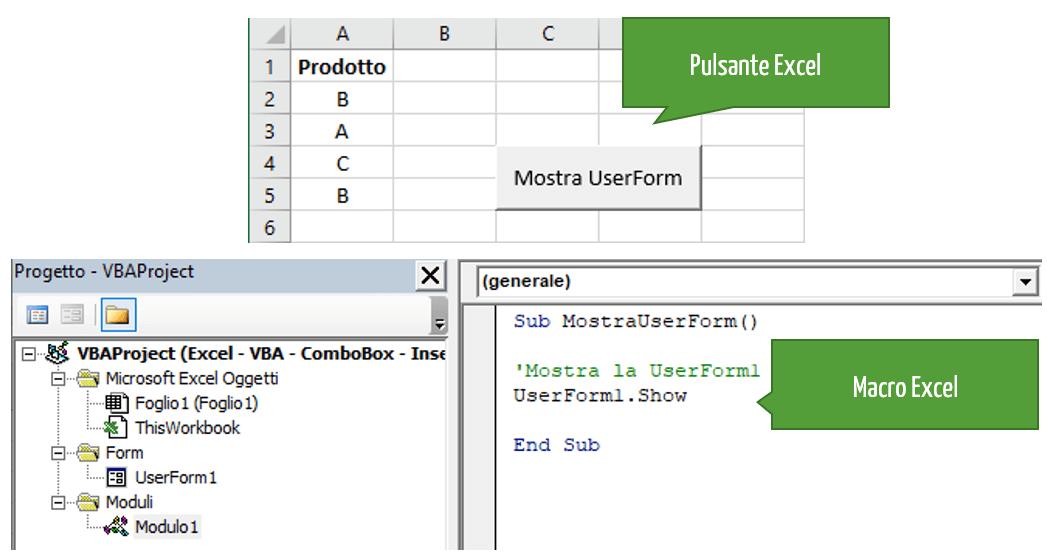Macro Excel: assegnare macro a un pulsante