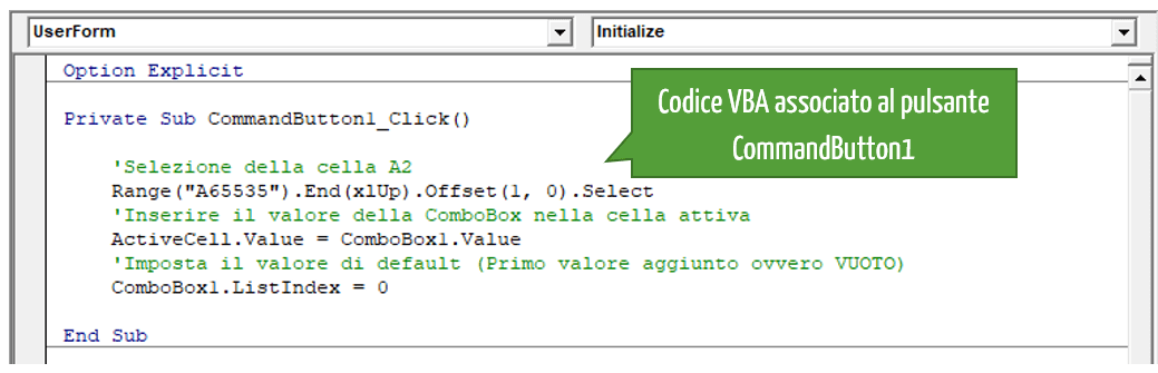 Macro Excel linguaggio VBA