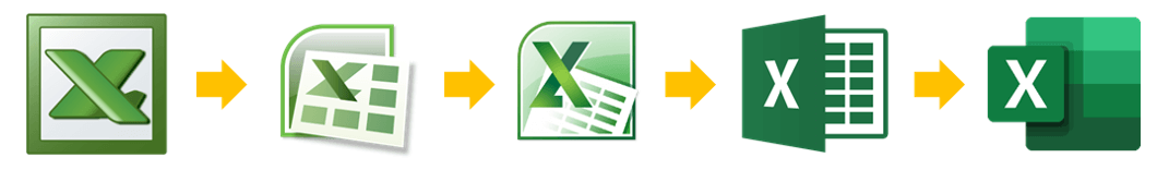Le versioni di Excel