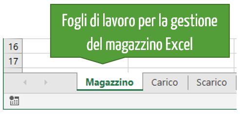 Gestire magazzino Excel | creare gestione magazzino Excel
