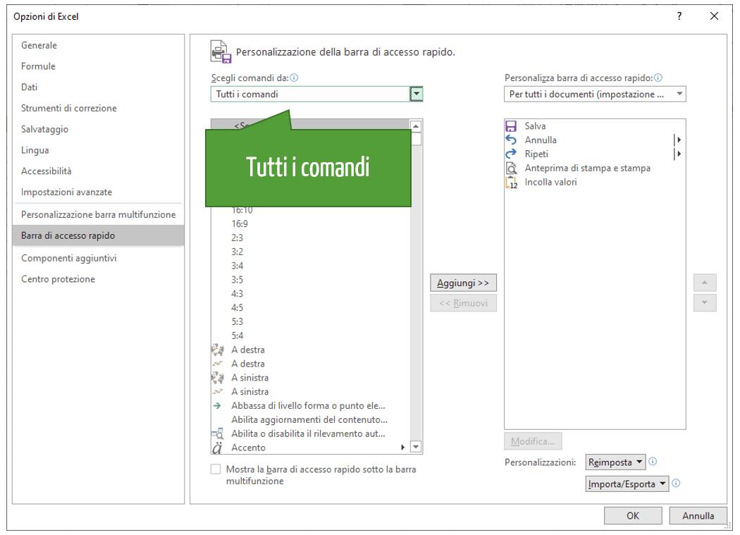 Moduli in Excel | Aggiungere pulsante modulo