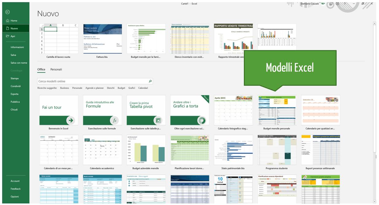 Modelli Excel | Come creare una cartella di lavoro basata su un modello Excel esistente
