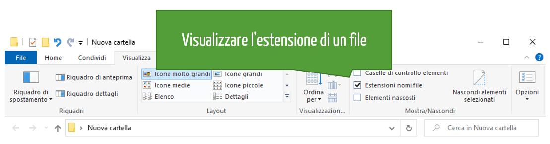 Estensione file Excel | Come visualizzare l'estensione di un file Excel