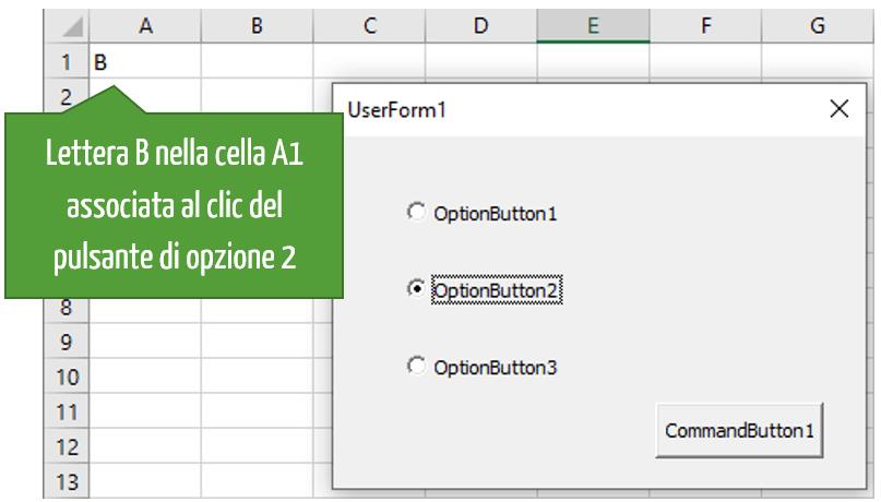 Option Button VBA | Pulsante di opzione in Excel