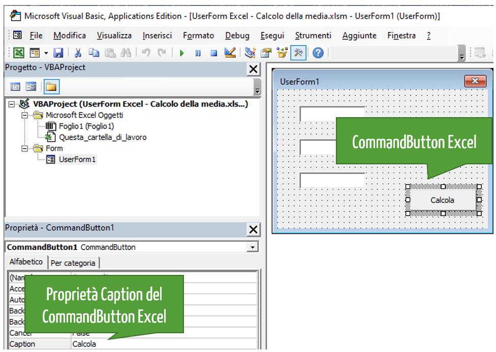 Form inserimento dati Excel | Calcolo della media