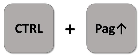spostarsi tra fogli Excel