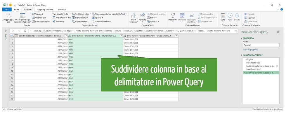 trasformare file pdf in Excel