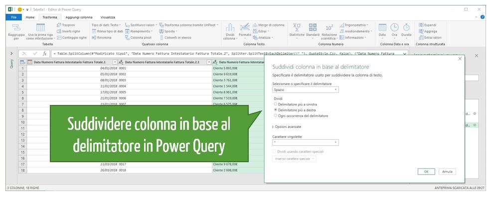 convertire un pdf in Excel