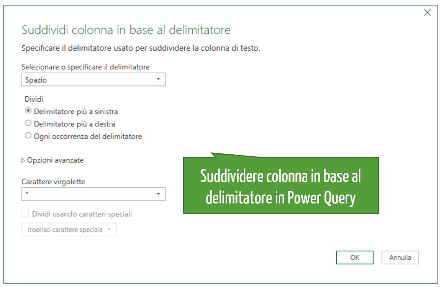 convertire pdf excel