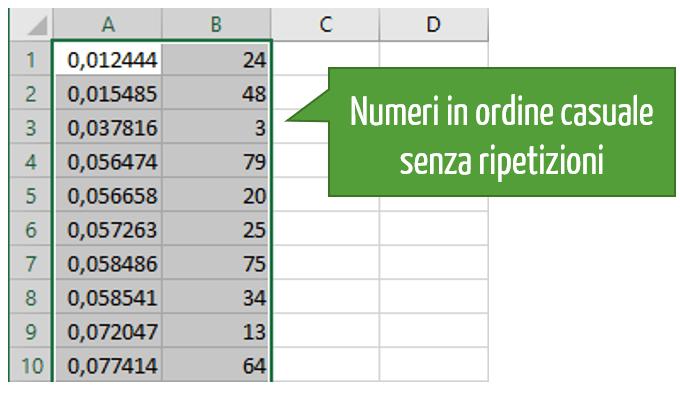 Estrazione casuale numeri | estrattore numeri