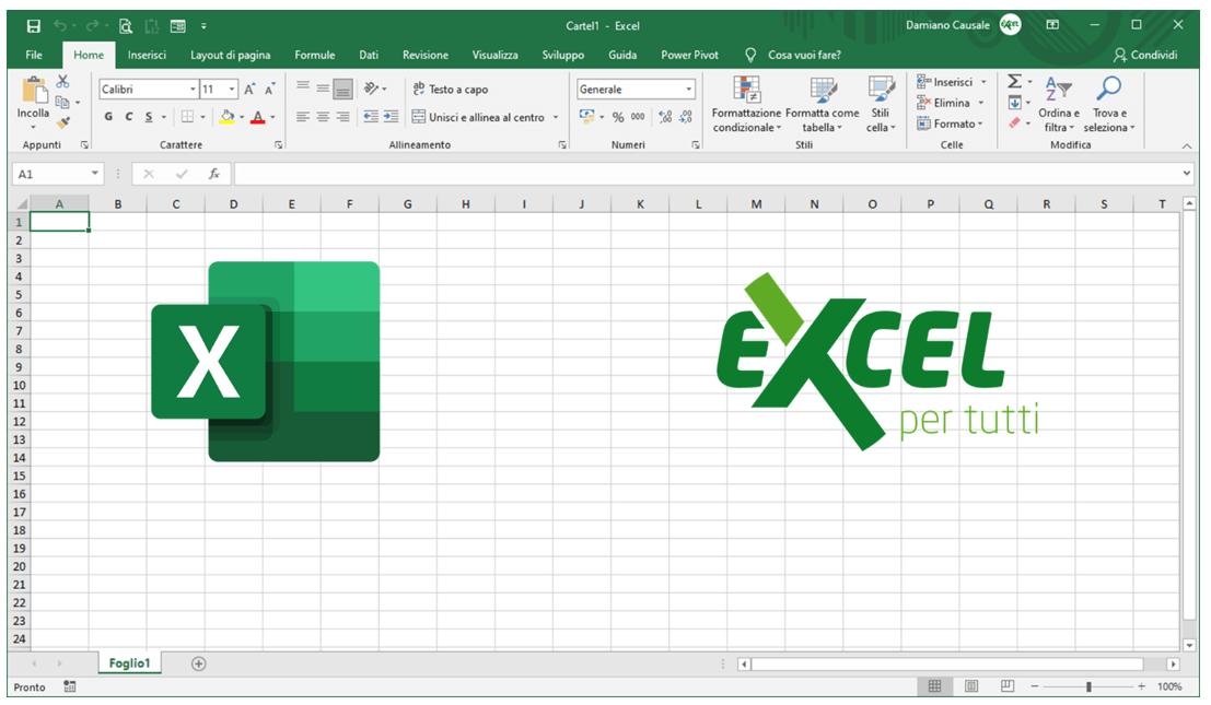 come usare Excel