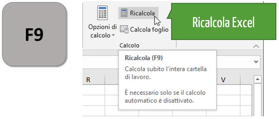 Come aggiornare formule Excel | Ricalcola Excel