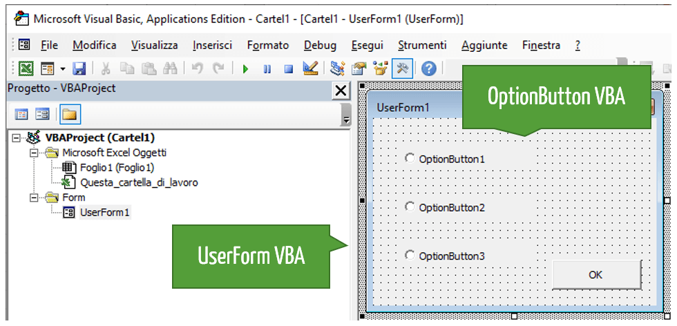 UserForm Excel   OptionButton VBA