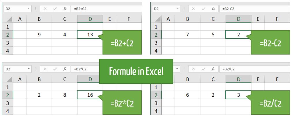 Che cos'è una formula in Excel